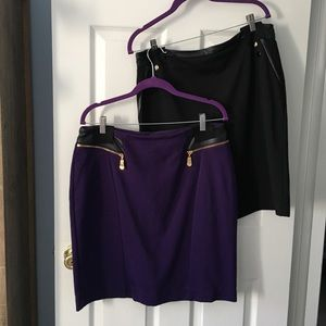 ‼️FINAL‼️ Alfani Skirts Size 12 - Lot of 2